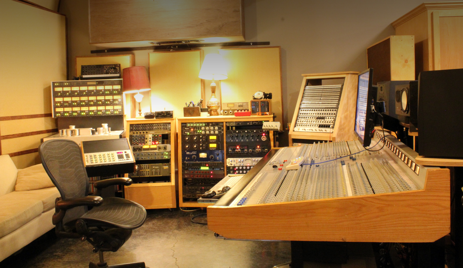 The Map Room Recording Studio In Portland Oregon